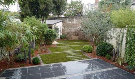Comment am nager les jardins de centre ville terre et - Comment retourner la terre du jardin ...