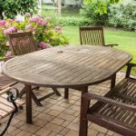 Table de jardin - Aménager sa terrasse - terre-et-jardin.fr
