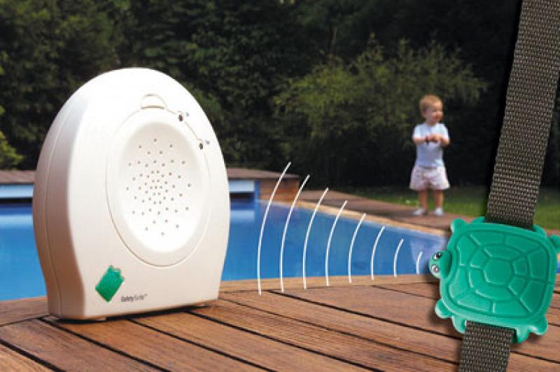 Utilisez une alarme pour sécuriser votre baignade